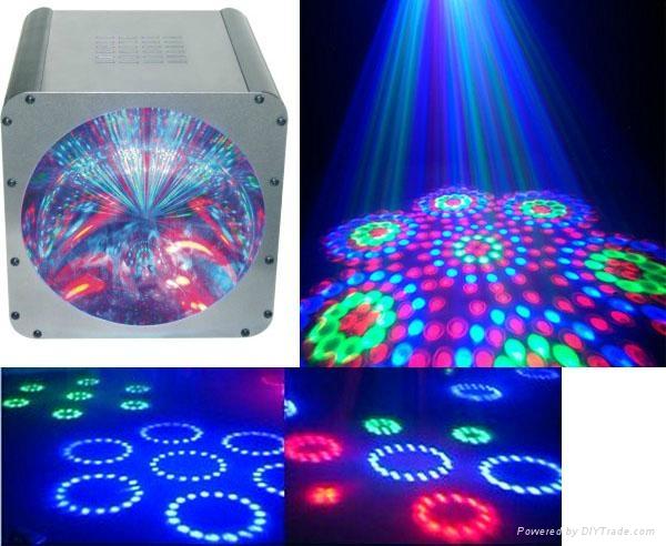 LED DMX512 10 通道 7头魔幻灯 1