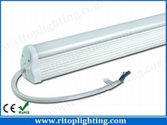 Integration IP65 waterproof T8 LED tube