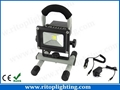 10W Rechargeable Portable LED Flood