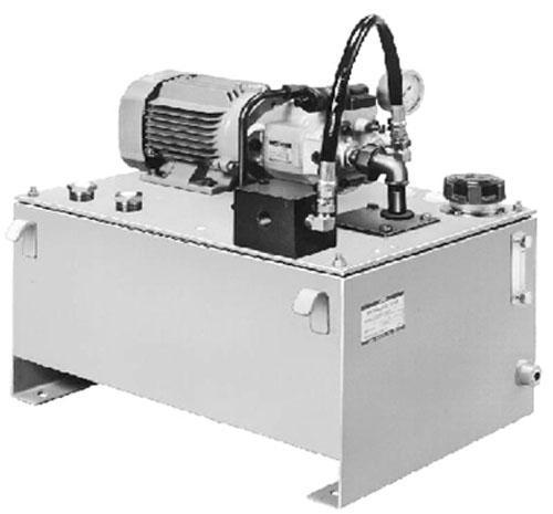 本系列液压站适用于数控机床液压系,统卧式铣床液压系统,立式加工图片
