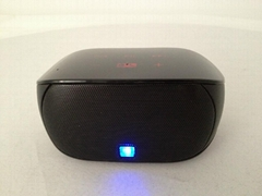 Portable mini bluetooth speaker with hands-free touch-panel control function