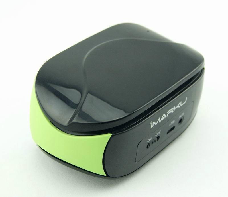 Portable mini bluetooth speaker with hands-free touch-panel control function 2