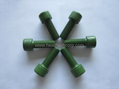 PTFE coated bolt and nut
