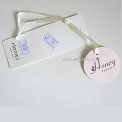 custom bra hang tag