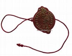 custom seal hang tag