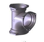 cast iron pipe fittings sanitary tee
