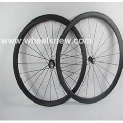 700C*38mm Tubular Road Bike Carbon Wheelset