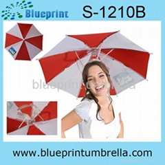 special design no shaft handle umbrella head