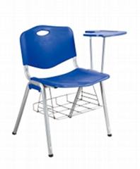 书网培训写字板椅