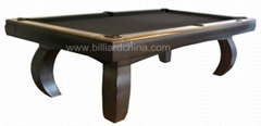 Pool Table 8ft Solid Woo