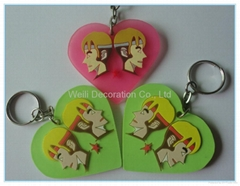 2013 Newest 3D soft PVC keychain