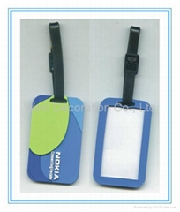 New Cute Soft PVC Luggage Tag For Sale