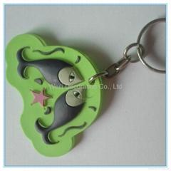 Hot Selling 3D High Quality PVC Soft Keychain