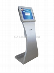 Automatic Banking Wireless Touchscreen Queue Management System