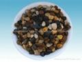 Pebbles pebble (gravel) filter material