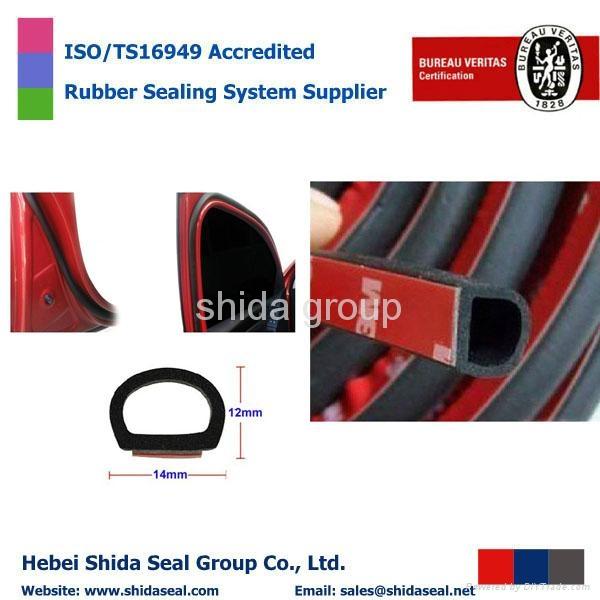 High-Quality Car Truck Motor Door Rubber Seal Strip Weatherstrip Seals Hollow