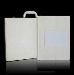 30X43cm Self-Adhesive Leather Photo Album with Briefcase