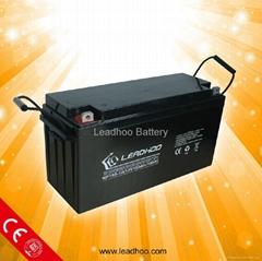 Leadhoo solar battery 12v150ah