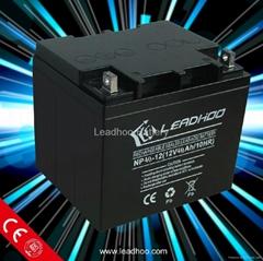 Leadhoo lead acid battery 12v40ah