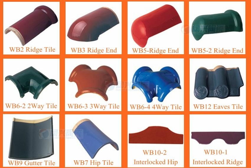 Terracotta Roof Tiles Made In China 3