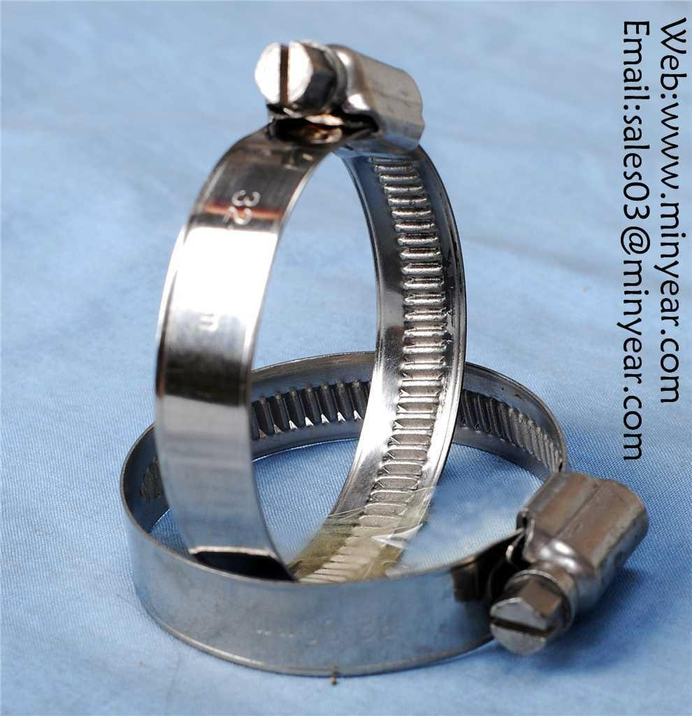 German middle style worm drive hose clamp - As your require - German ...