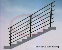 Easy Install Modular Steel Stair Railing China Supplier