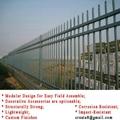鋅鋼防鏽型 烤熒光漆 組合式 護欄立柱管型材 2