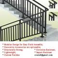 新型 鋅鋼防鏽 易清潔 樓梯護
