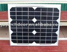 10W sloar panel for dc sliding gate operator  1