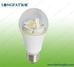 A60 E27 LED Bulb with Transparent Cover