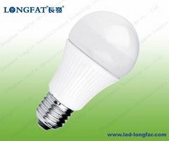 led bulb A60 E27 ivory cover(plastic)