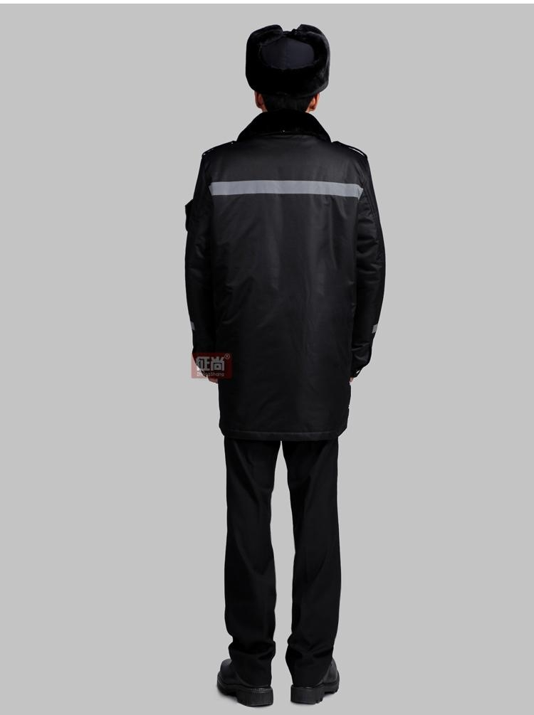 商场保安棉服 4