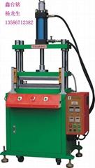 Membrane switches bulge hot press