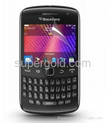 High-transparency anti-fingerprint screen protector for BlackBerry 9800