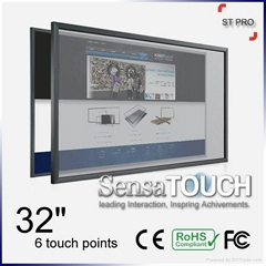 SensaTouch ST Pro 32 inch 6 Inputs Multi-Touch Overlay