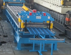 Full-automatic cold roll forming machine