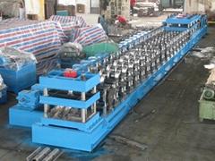 highway guard rail making machine