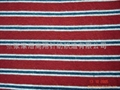 全棉彩條針織面料