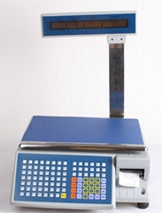 2014 NEW best hot sale Electronic Barcode printing scale