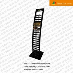 Quartz stone Display rack