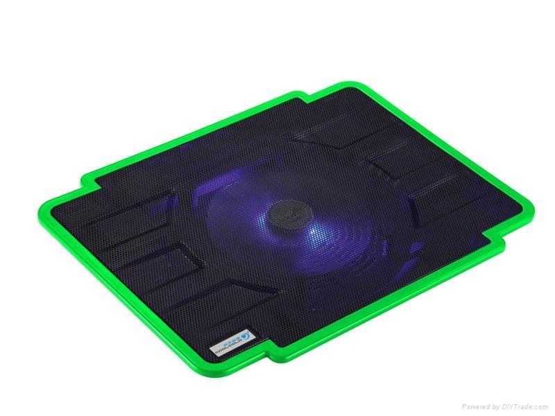 Ultra-slim Single Fan USB Powered Coolcold Laptop Coolers 3