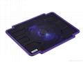 Ultra-slim Single Fan USB Powered Coolcold Laptop Coolers 4