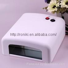 UV light-cured nail dryer
