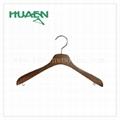 """15 3/8"""" fashion korean clothes hanger luxury wooden hanger-11C038  1"""