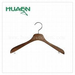 """15 3/8"""" fashion korean clothes hanger luxury wooden hanger-11C038"""