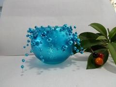 玻璃蜡烛台-球杯