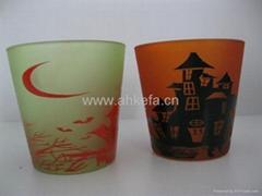 玻璃蜡烛杯-9306
