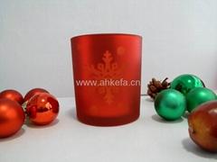 玻璃蜡烛杯-8810