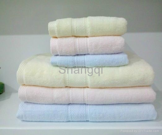 长绒棉方巾,毛巾,浴巾(HY-9) 1