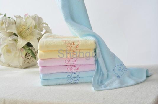 花边纯棉超吸水柔软毛巾 (HY-17-5) 3